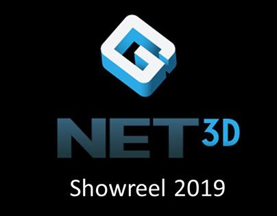 G-Net 3D 2019 Showreel