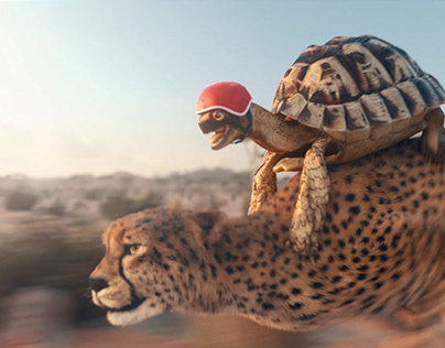 Airtel 4G Pocket WiFi Commercial-Tortoise and Cheetah