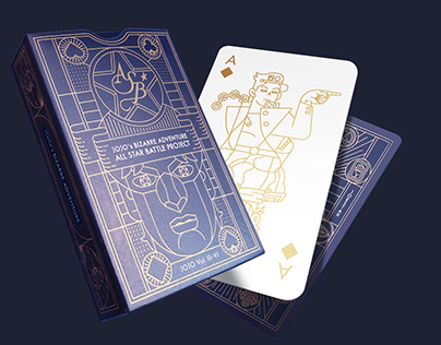 [Playing Card] JoJo's Bizarre Adventure Vol.III-IV