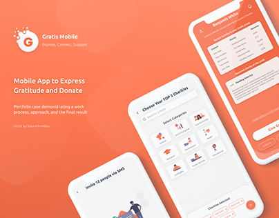 Gratis - Mobile App to Express Gratitude