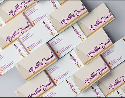 Scribbles Journal - Business Card Design