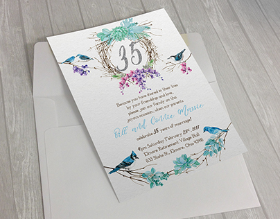 35th Anniversary Invite