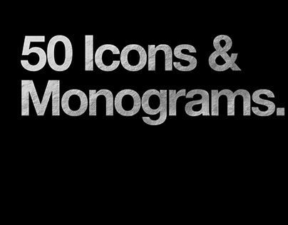 50 Icons & Monograms.