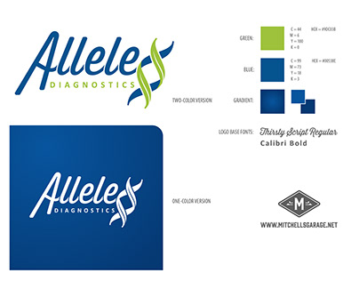Allele Diagnostics Re-Branding Project