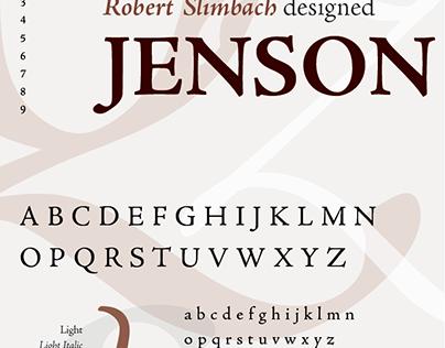 Typographic Specimen Series