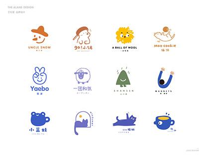 The Alans logo design collection