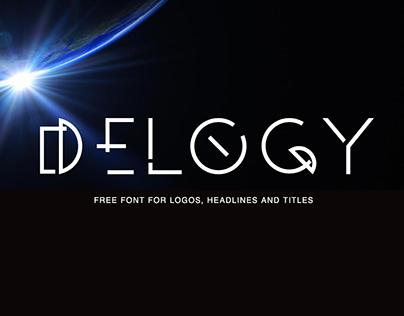 DELOGY - FREE DISPLAY FONT