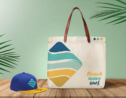 Beach Wave Surf - brand identity