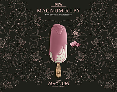 Magnum Ruby: Advertising / Box / Flyer / Stopper / Wall