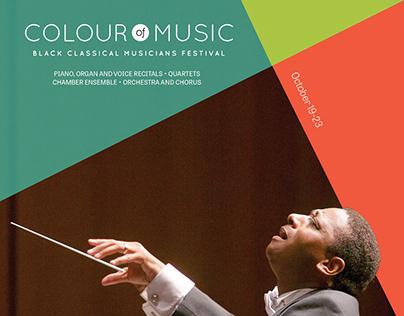 2016 Colour of Music Festival Media Kit