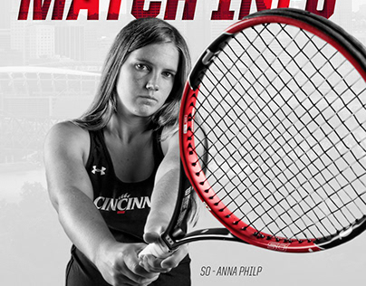 2017-18 Bearcats Women's Tennis Graphics