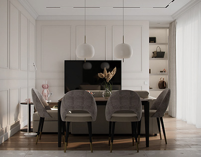 apartment in Moscow ZHK Zilart