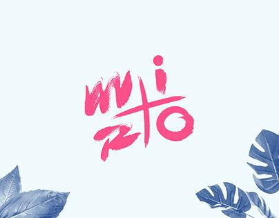 miro - personal branding & website