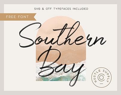 [FREE SVG FONT] Southern Bay