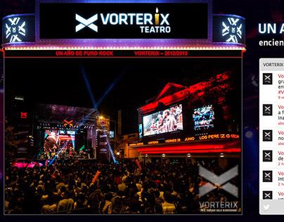Web design | Vorterix microsites