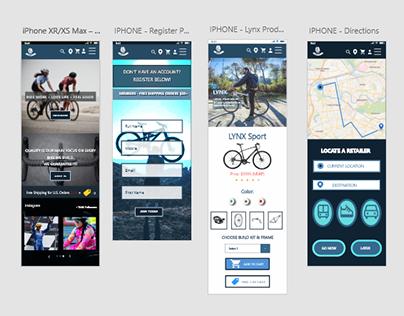 Mobile App - Adobe XD