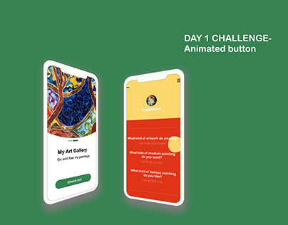 DAY 1 CHALLENGE-Animated button