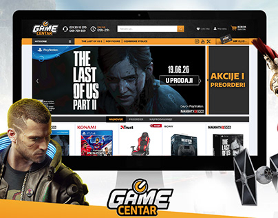 GAME CENTAR online store