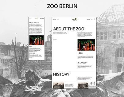 Zoo Berlin - redesign concept