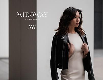 MIROWAY - Naming & Brand identity