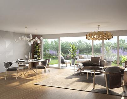 Living room Winterthur ground floor