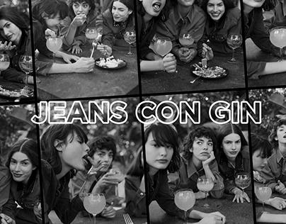 CHER | Jeans con Gin