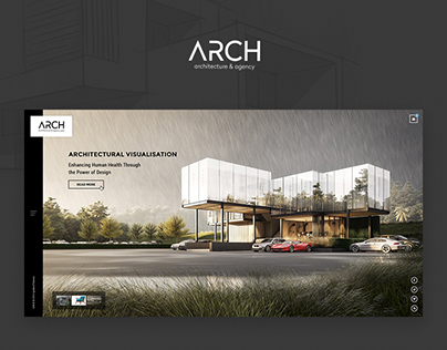 Arch - Architecture & Agency Web layout