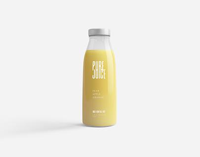 Pure Juice - Branding