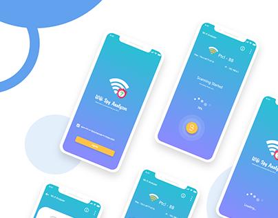 wifi Spy App UI/UX