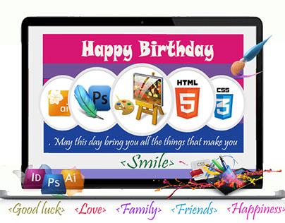 Birthday Wishes to Designer