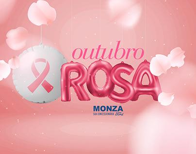 Ford Monza Outubro Rosa Pink October