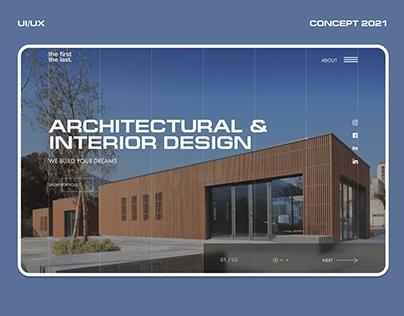 Architecture studio - UI/UX Concept