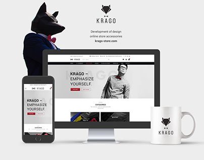 Krago website design, creation and development