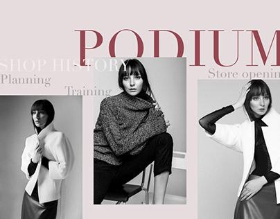 PODIUM Online Store