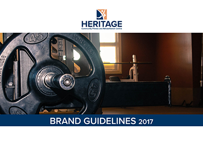 Heritage Community Fitness Logo Concept