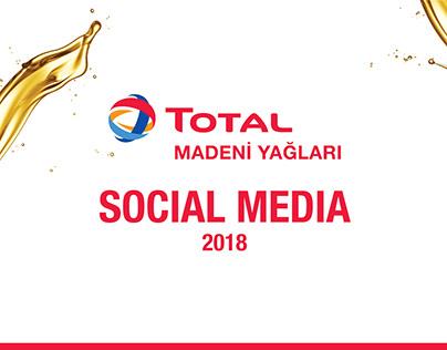 Total Madeni Yağları - Social Media 2018