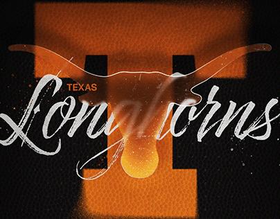 Texas Longhorns Poster