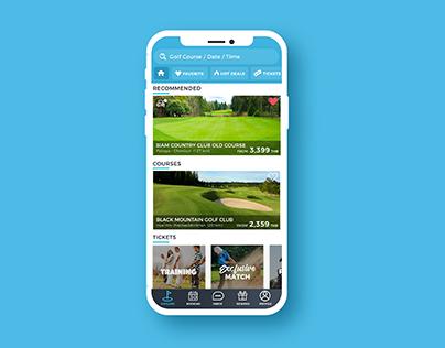 Golf Booking Application