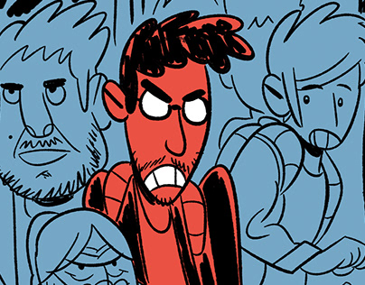 Santyini (comic sketches)