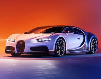 Two tone Bugatti Chiron