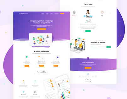 Web design | PeopleSpheres HR Core - 2018