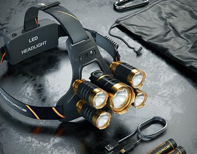MSForce HL-400 headlamp
