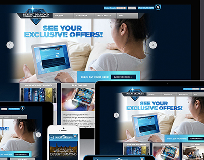 Desert Diamond Casino & Resorts Web Design