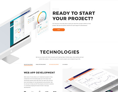 GCT Ventures - Website, UI/UX