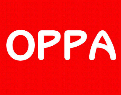 OPPA cafe | brand identity and packaging