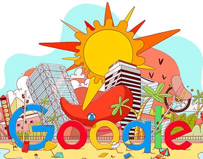 Barcelona Google's doodles