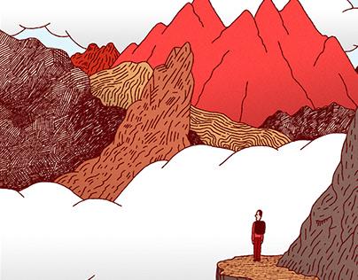 Illustration montagne