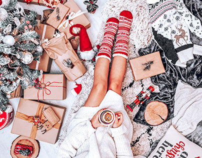 9 Merry Xmas Lightroom Mobile Presets Photoshop Actions