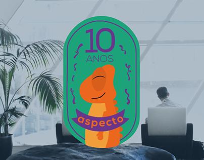 [Logo Comemorativa] Aspecto Empreendimento Criativo