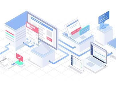 Razorpay - Brand Illustrations for Web
